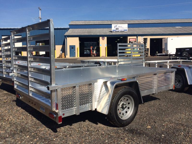2018 Aluminum Trailer Company OUTAB5010 Flatbed Trailer