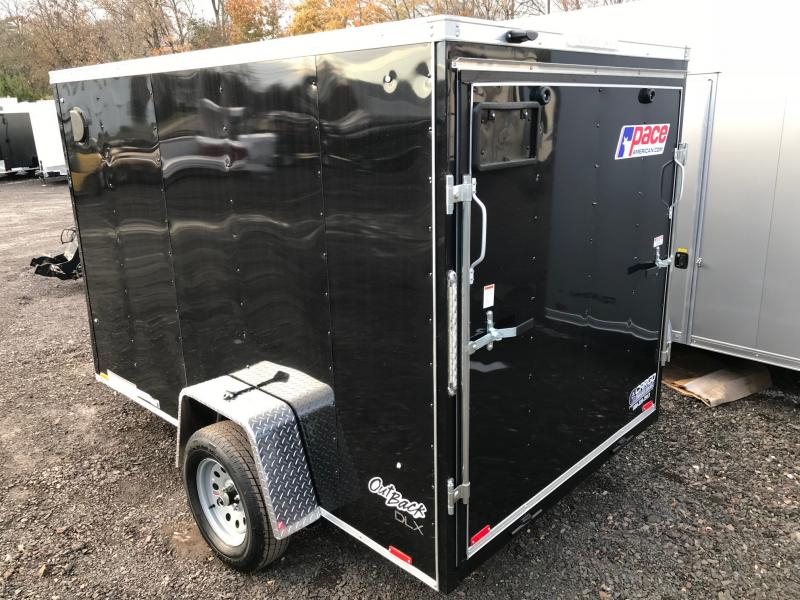 2018 Pace American OB 6X10 DLX Enclosed Cargo Trailer