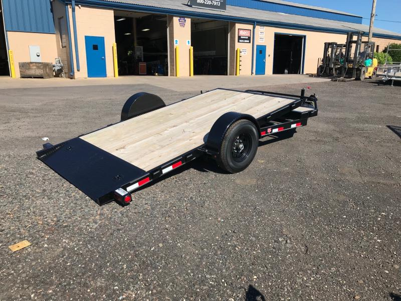 2019 PJ Trailers SA HD Tilt 16 Flatbed Trailer
