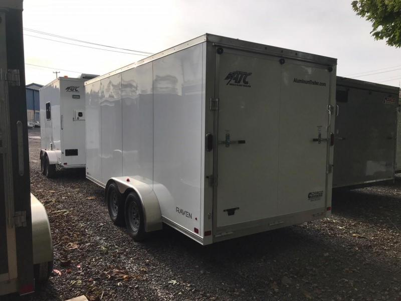 2018 Aluminum Trailer Company RAVAB7016+2 Enclosed Cargo Trailer