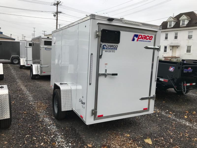 2018 Pace American OB 5X10 Enclosed Cargo Trailer