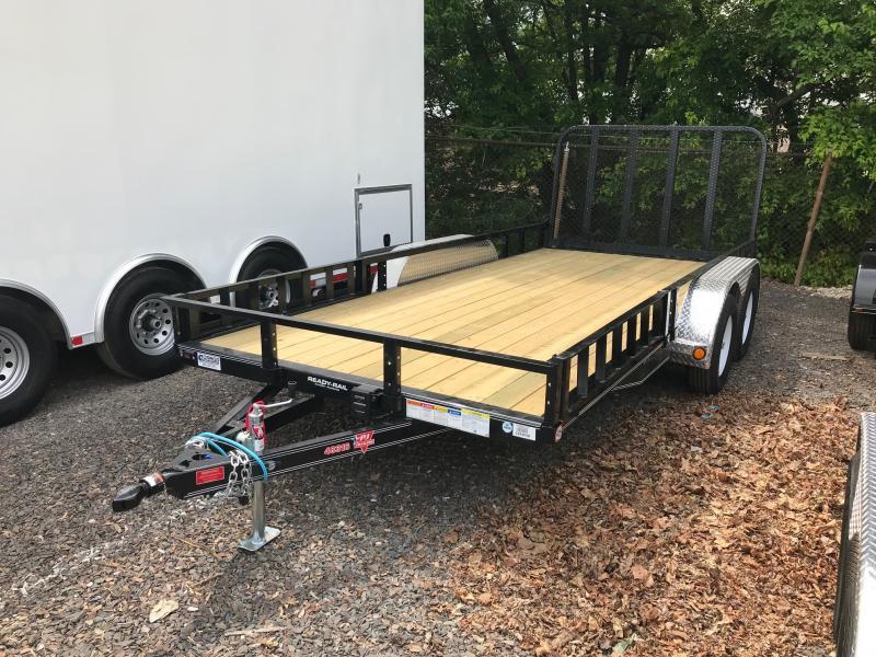 2019 PJ Trailers UL16 TA Utility Utility Trailer