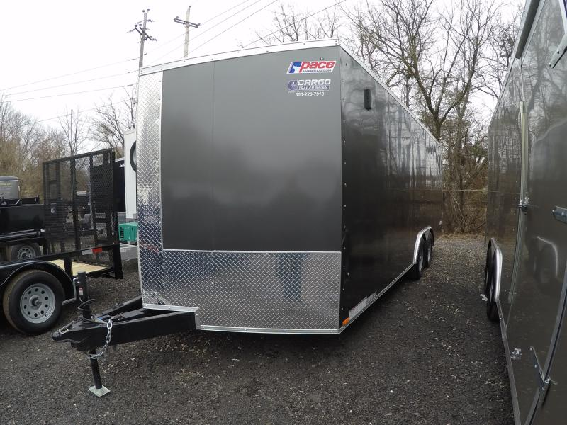2018 Pace American JV 85X20 Enclosed Cargo Trailer