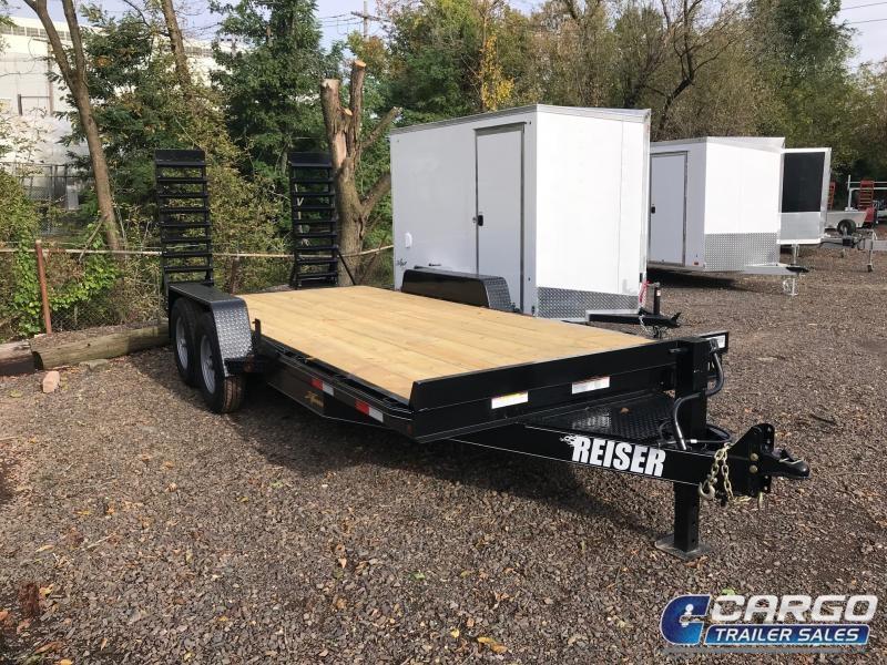 2018 Reiser Trailers ET1812K Flatbed Trailer