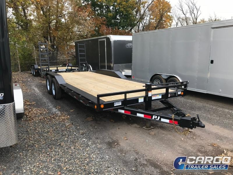 2019 Pj Trailers 22 B6 Buggy Hauler Flatbed Trailer
