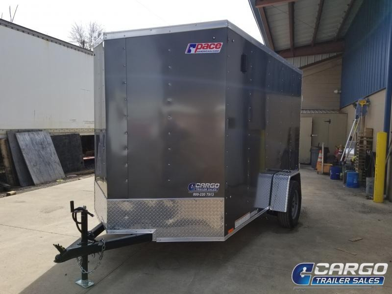 2019 Pace American OB 6X10 Enclosed Cargo Trailer