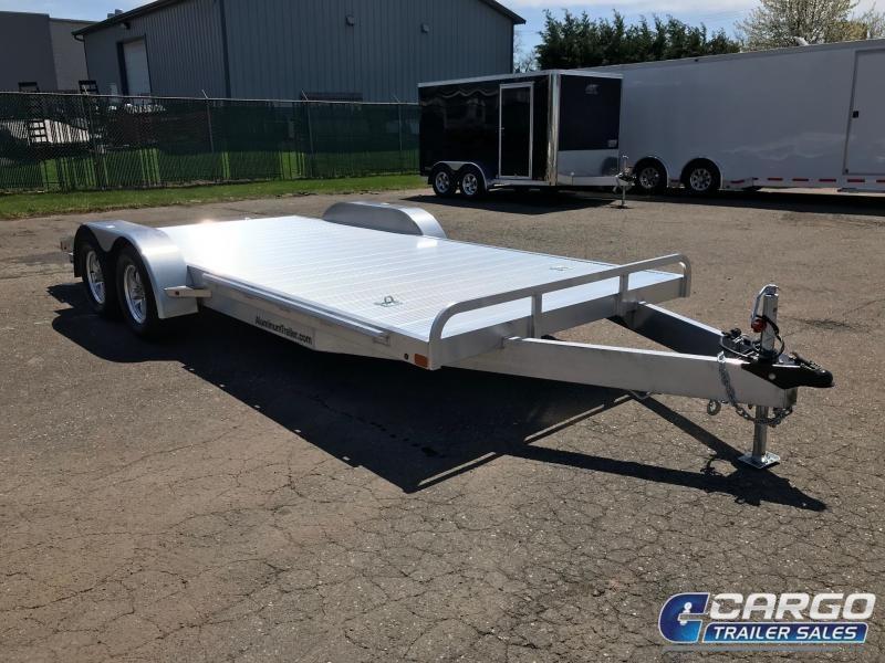 2018 Aluminum Trailer Company OCHAB8516+0-2S3.5K Flatbed Trailer