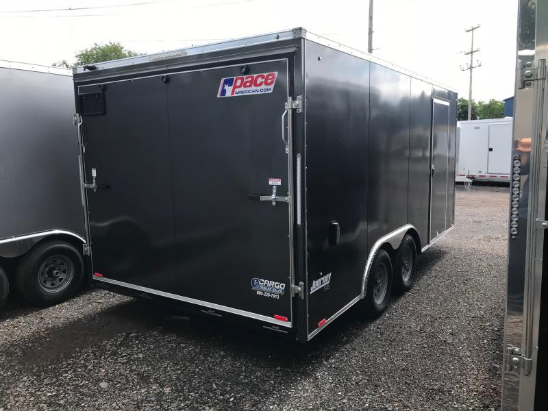 2018 Pace American JV85X16 Enclosed Cargo Trailer