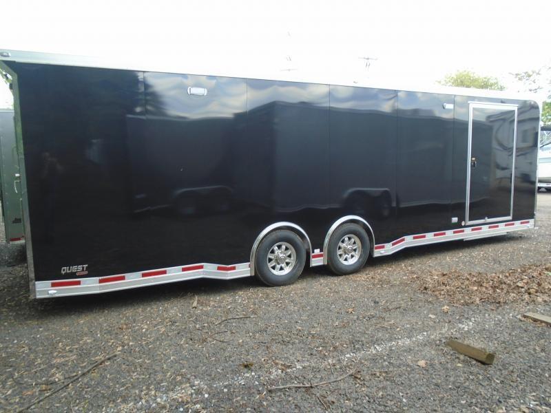 2019 Aluminum Trailer Company QSTAB8528+0 Car / Racing Trailer