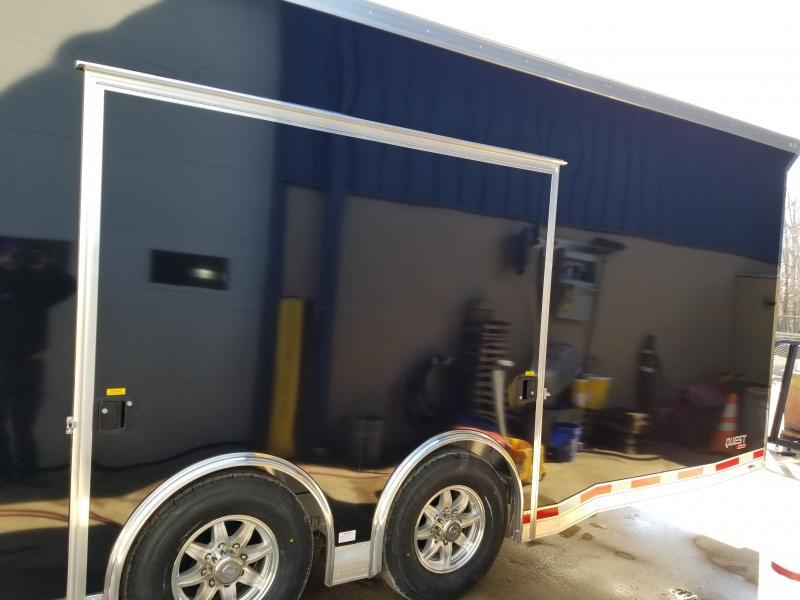 2019 Aluminum Trailer Company QSTAB8528+0 Enclosed Cargo Trailer