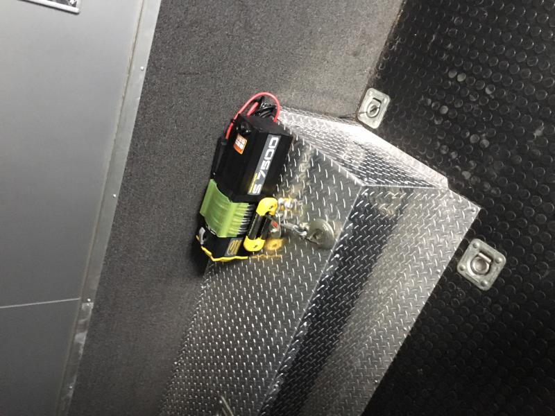 2012 Aluminum Trailer Company ATCSB8532 Enclosed Cargo Trailer