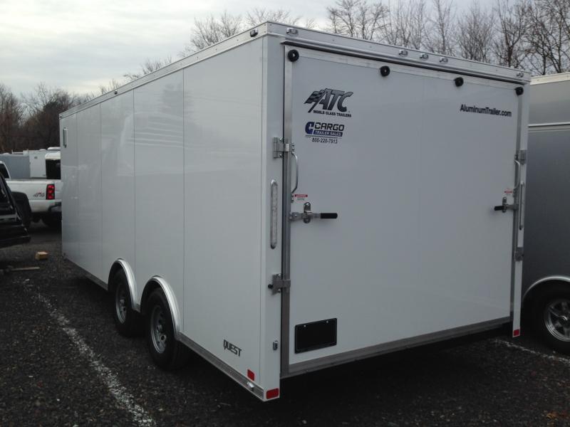 2018 Aluminum Trailer Company QSTSB8520 Enclosed Cargo Trailer