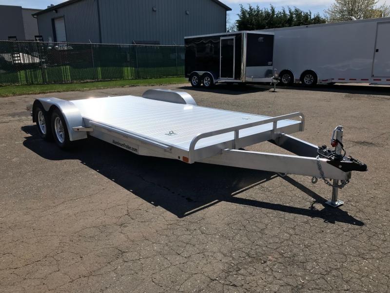 2019 Aluminum Trailer Company OCHAB8518+0-2T.35K Flatbed Trailer