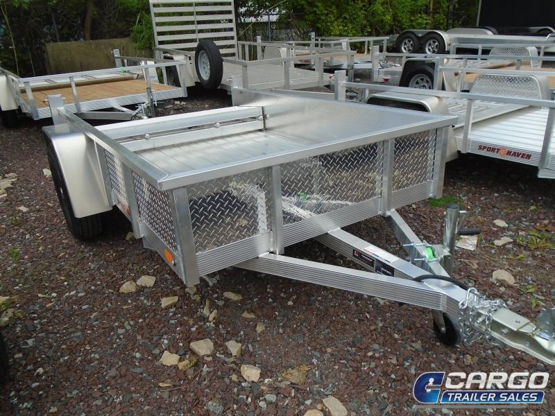 2019 Sport Haven AUT508DS-F Utility Trailer