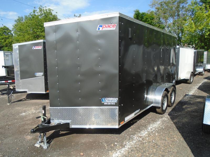 2020 Pace American OB 7 X 14 TE2 Enclosed Cargo Trailer