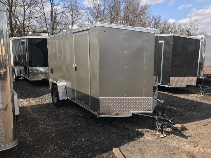 2018 Pace American OB 6X12 DLX Enclosed Cargo Trailer