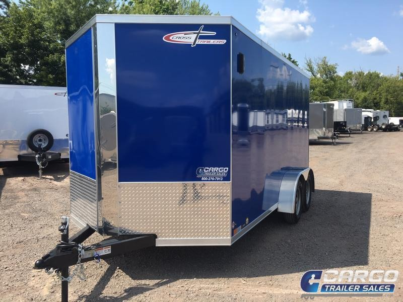 2020 Cross Trailers 714 Enclosed Cargo Trailer