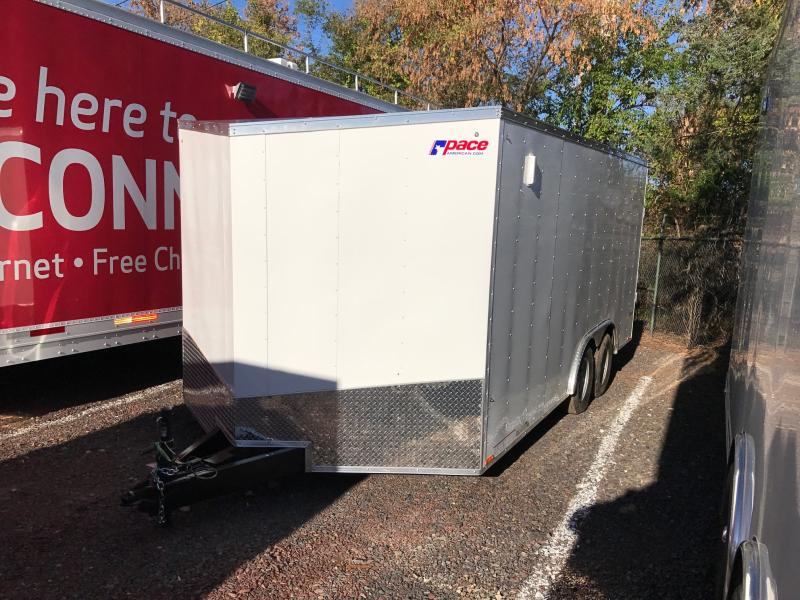 2018 Pace American OB 8.5X16 Enclosed Cargo Trailer