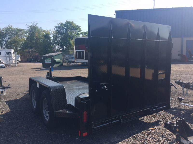 2018 Mustang Trailer 612MA9990G Flatbed Trailer