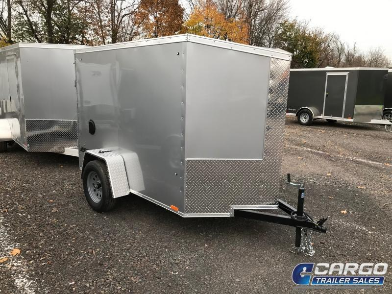 2019 Pace American JV 5x8 Enclosed Cargo Trailer