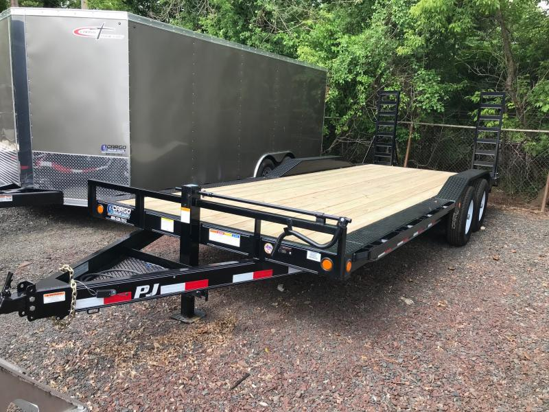 2019 PJ Trailers B6 Buggy Hauler Flatbed Trailer