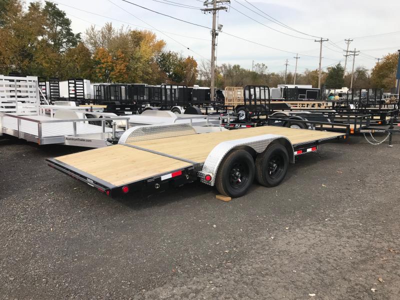 2019 PJ Trailers 18 C4 Car Hauler Flatbed Trailer