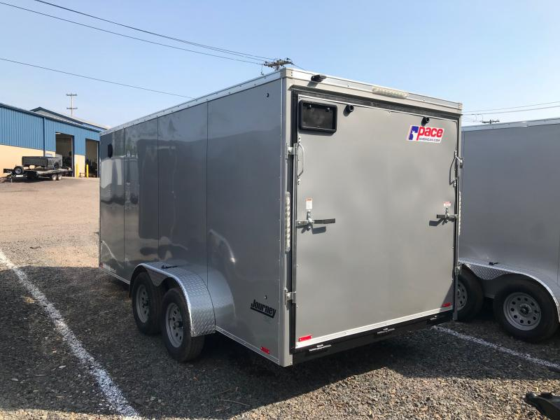 2018 Pace American JV 716 Enclosed Cargo Trailer