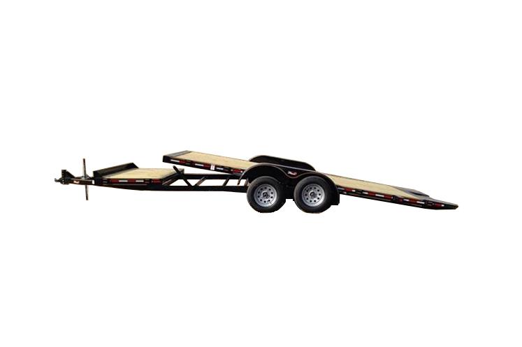 2018 heartland 82 x 22 sure tilt equipment trailer