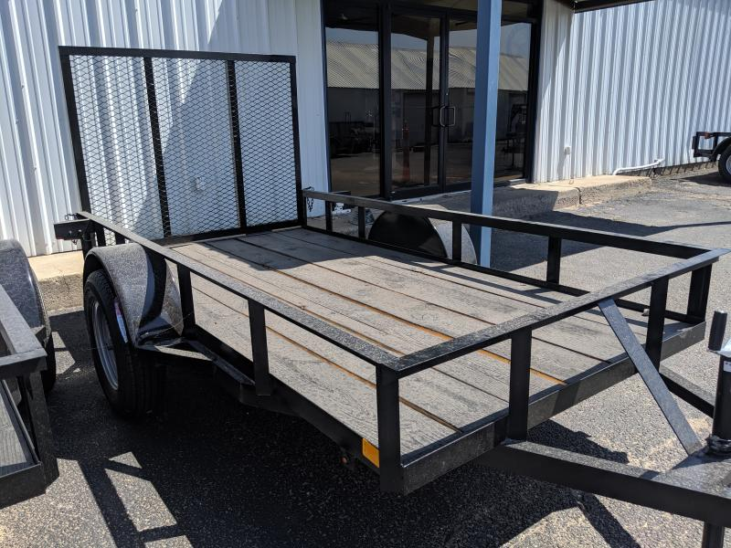 C&M 5x10  Single Utility Trailer 4'Gate