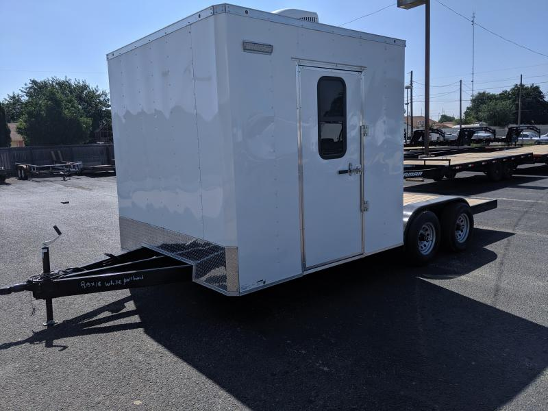2019 Salvation Trailers 8.5x18 hybrid Enclosed Cargo Trailer