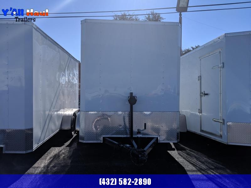 Salvation 7 x 12 Enclosed Trailer