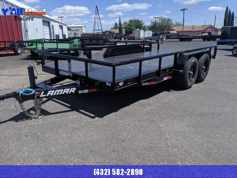 Lamar 83 x 16 Steel floor 5.2k Utility Trailer
