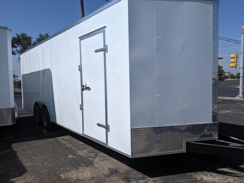 2019 Salvation Trailers 8.5x24 5.2k Enclosed Cargo Trailer