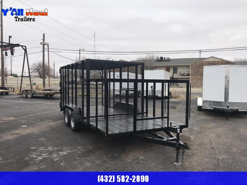 C&M 76x18 Port-A-Pot Trash Trailers
