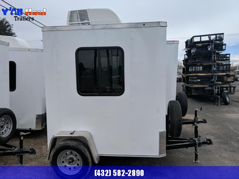 2019 Salvation Trailers 4x6 Guard shack Enclosed Cargo Trailer