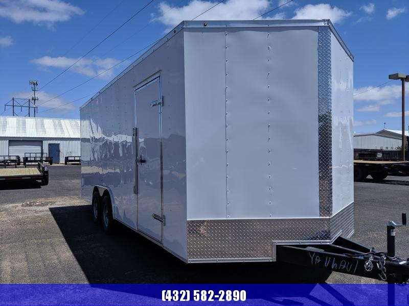 2019 Salvation Trailers 8.5x20 5.2k Enclosed Cargo Trailer