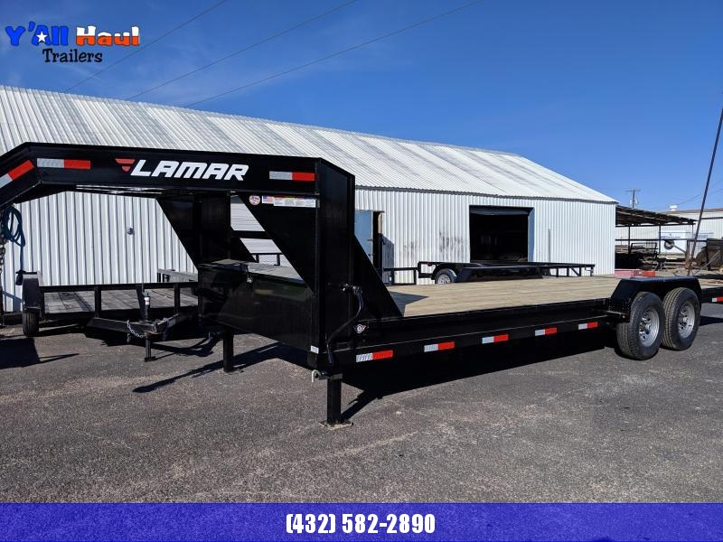 2019 Lamar 83x24 Goosneck 7k Equipment Hauler