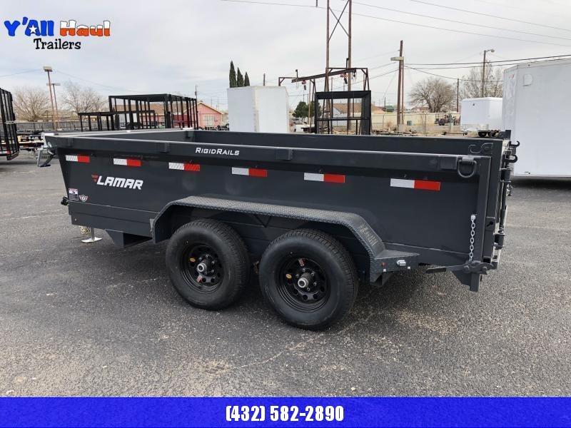Lamar 60X10 3.5K Dump Trailer