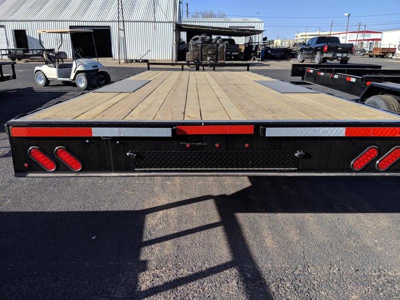 2019 Lamar Trailers 102X20 Deckover Utility Trailer