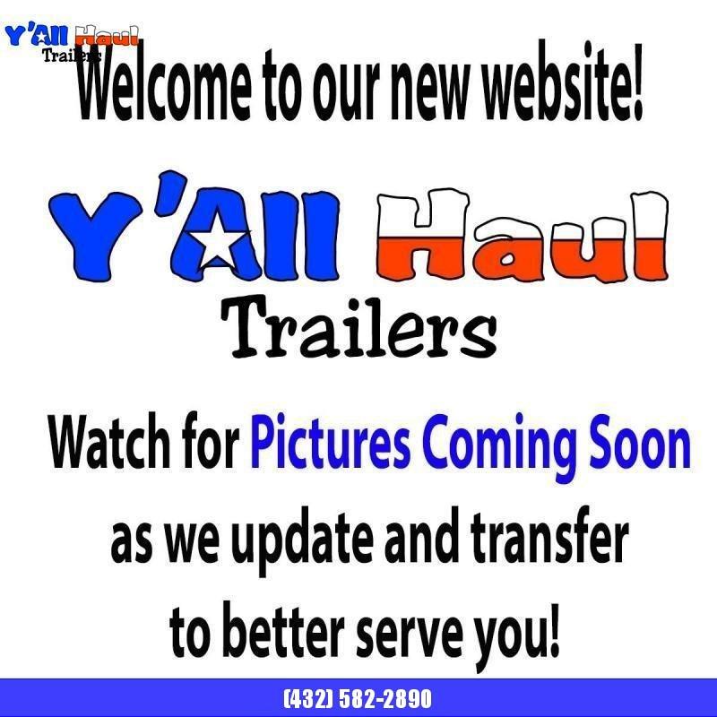 2019 Lamar Trailers 77x16 Utility Trailer Dovetail Ramps