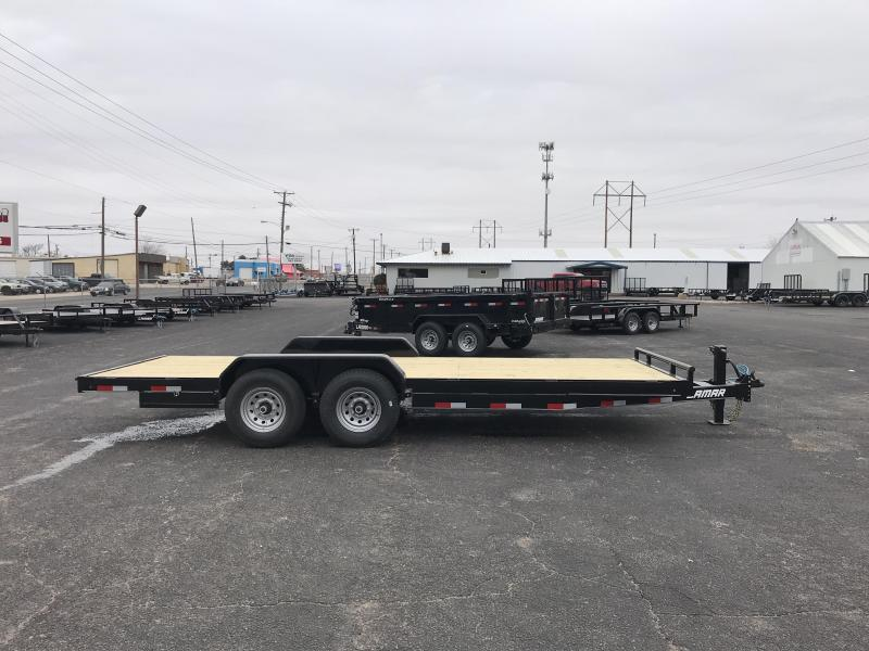 Lamar 83 X 20 7K Equipment Trailer