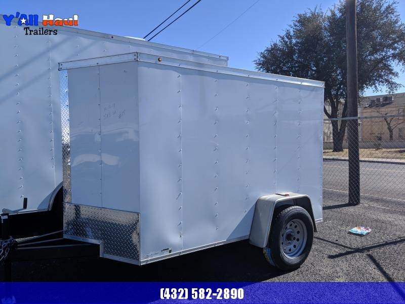 Salvation 5 x 8 Enclosed Trailer