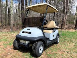 2017 Club Car Precedent EFI GAS 4 Pass Golf Cart LIGHT GRAY