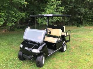 SAVE $1000 NEW Evolution 4 pass 22MPH  BLACK/BEIGE GOLF CAR