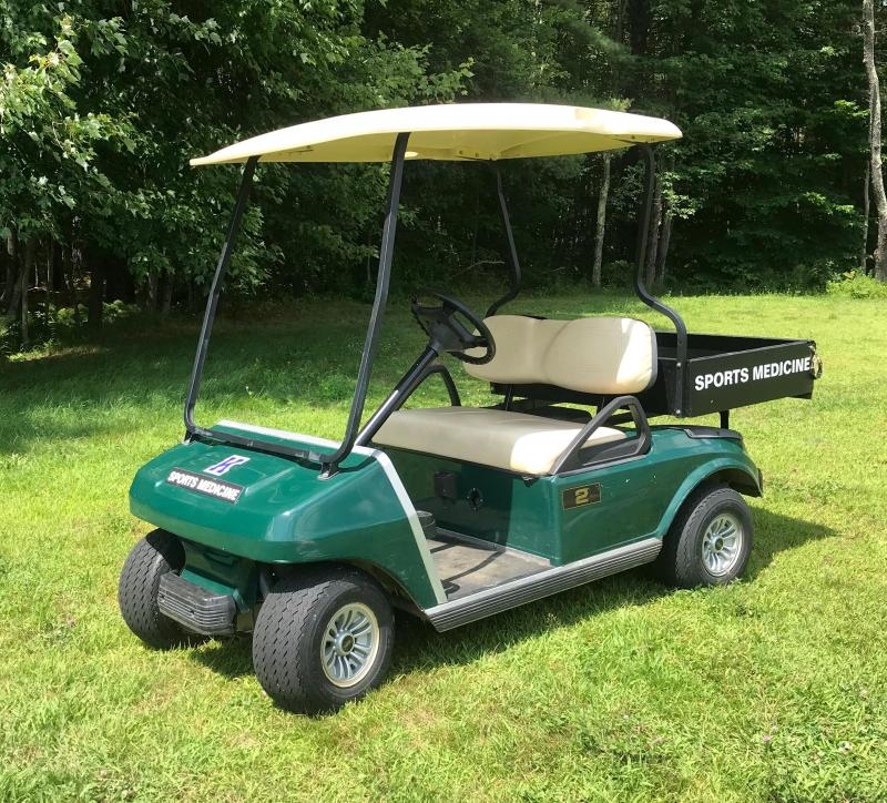 Club Car DS 48 volt Electric Golf cart w/cargo box-2019 Trojan battery