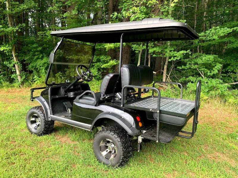 2018 Street Legal Evolution LIFTED BLACK 4 pass golf car