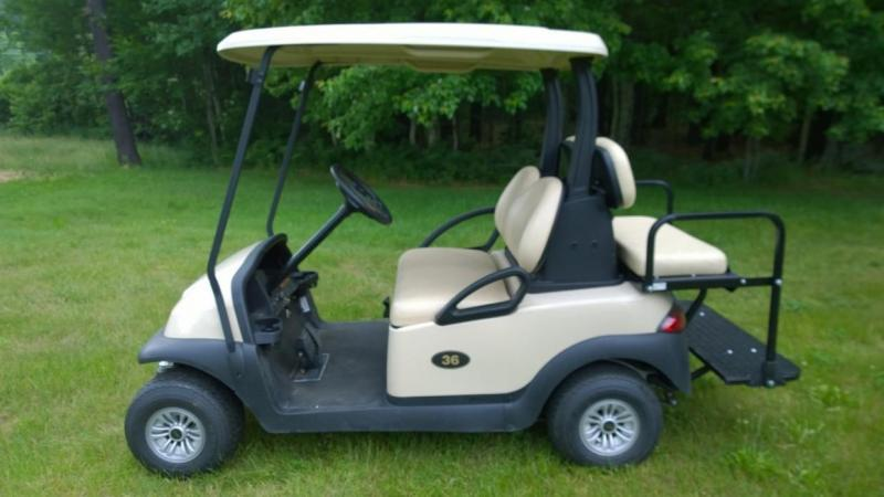 2016 Club Car Precedent Electric 4 Pass Golf Cart