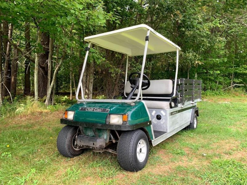 2013 Club Car Carryall/Turf 6 Electric Utility Flatbed DUMP