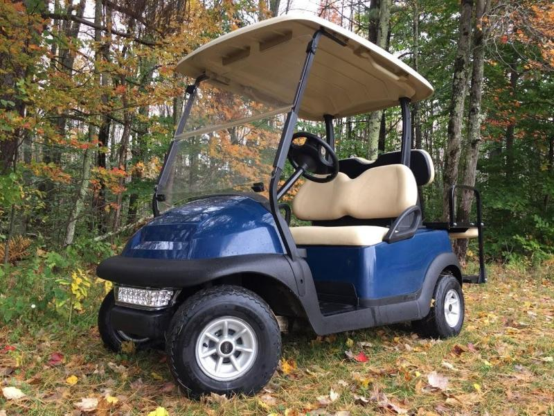 $500 off! 2016 Club Car Precedent Electric BLUE-Super nice clean 4 pass golf cart