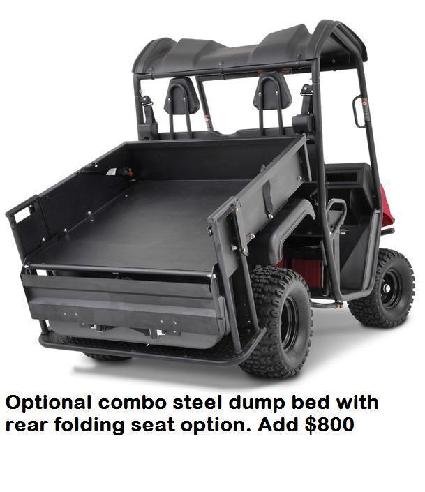 $1000 OFF American LandMaster 550 4WD UTV-PLOW-PWR STEERING-ENCLOSURE